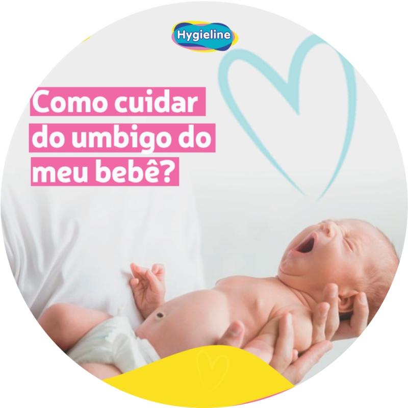 Como cuidar do umbigo do meu bebê?