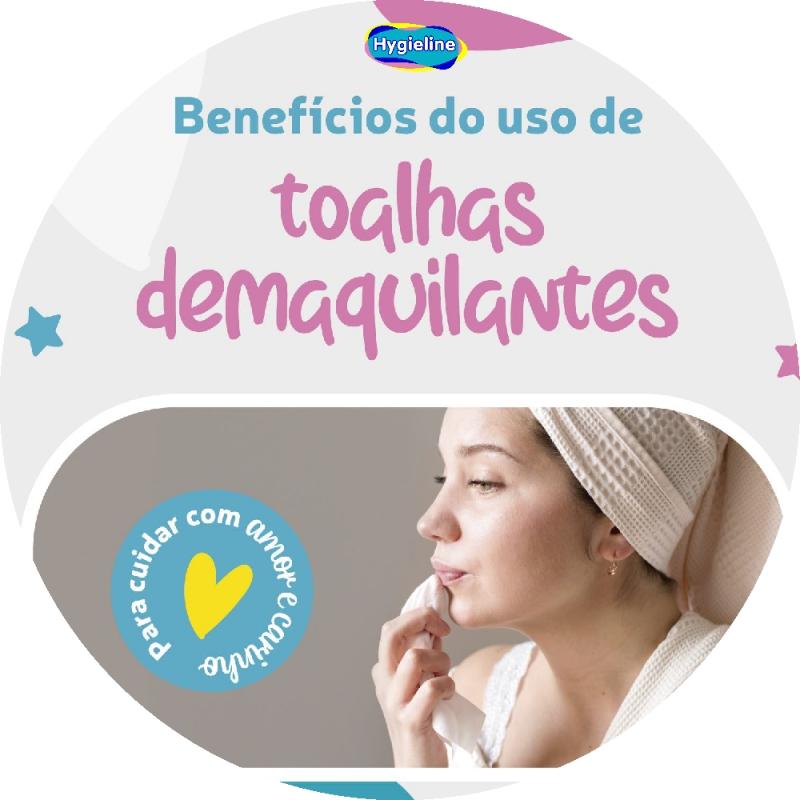 Benefícios do uso de toalhas umedecidas