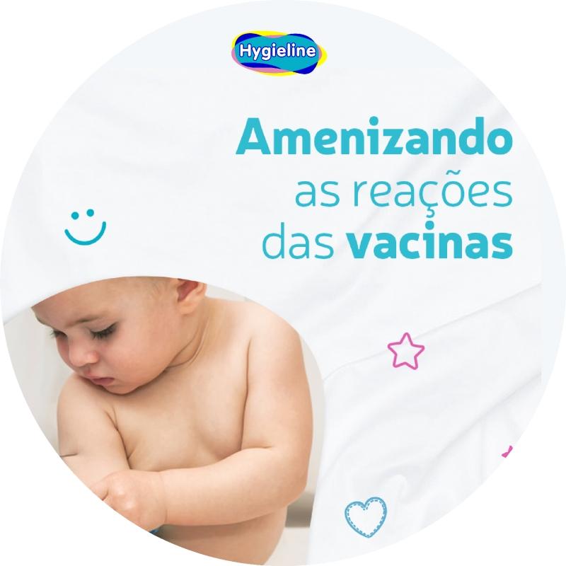 Amenizando as reações das vacinas