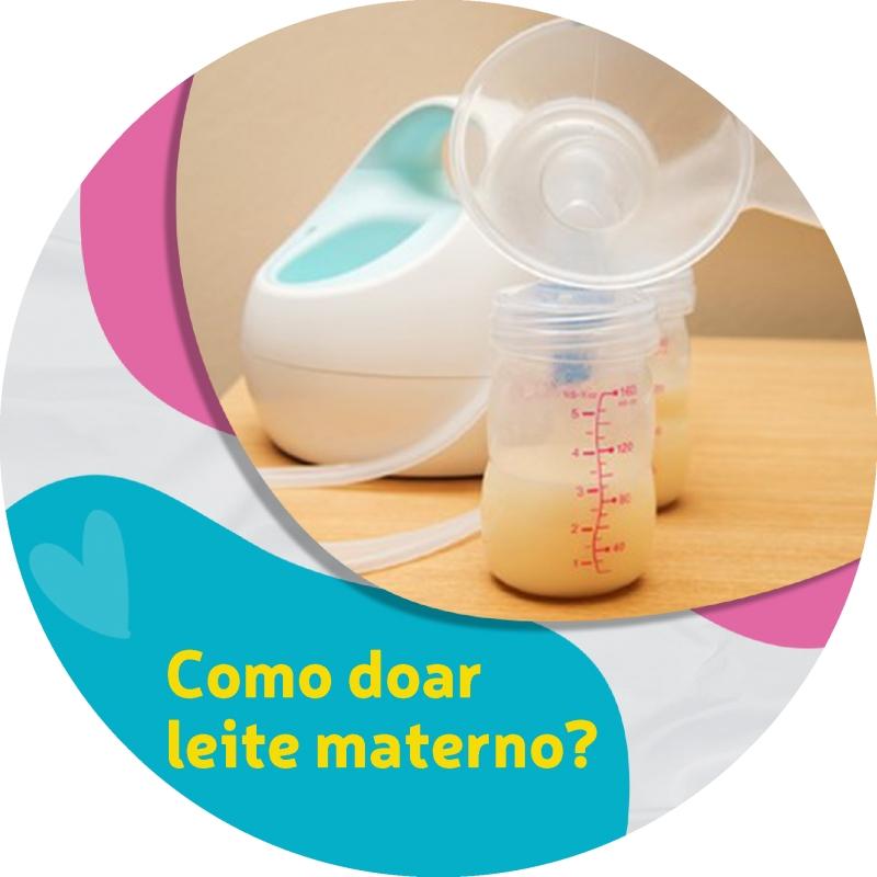 Como doar leite materno?